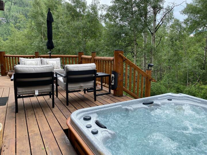Luxury Mountain Home w/ Private Hot Tub, High-Speed WiFi, and Fireplace