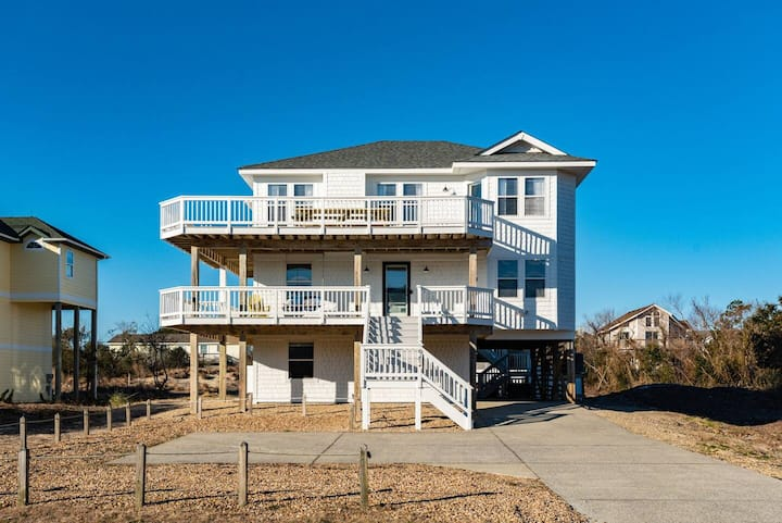 The Salty Soul OBX - Walking Distance To The Beach