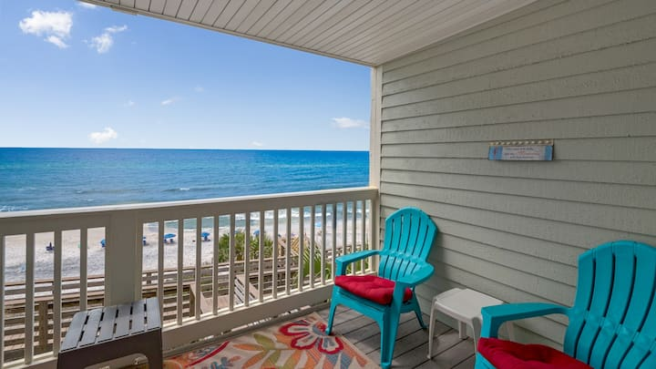 Mistral 11 - Gulf Front in Seacrest - Beautiful Views and Easy Beach Access - Mistral 11