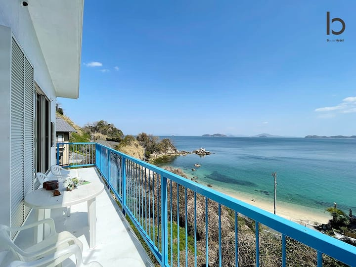 1BR House with Ocean View Few min walk to thebeach