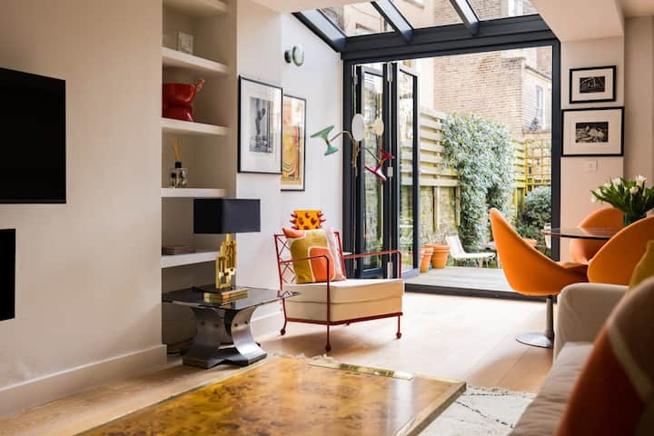 Homely Garden Flat in Notting Hill - LOVE