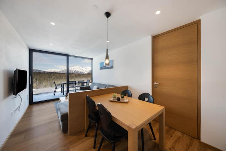 Apartment 'Ifinger RESIDENCE MORITZ' Close to Merano with Mountain View, Sauna, Wi-Fi, A/C, Private Terrace & Garden; Parking Available