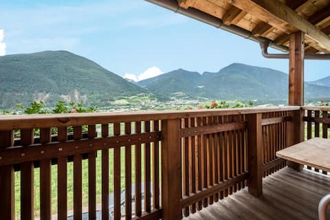 """Apartment """"Kreuzhof rechts"""" with Mountain View, Wi-Fi, Balcony & Garden; Parking Available"""