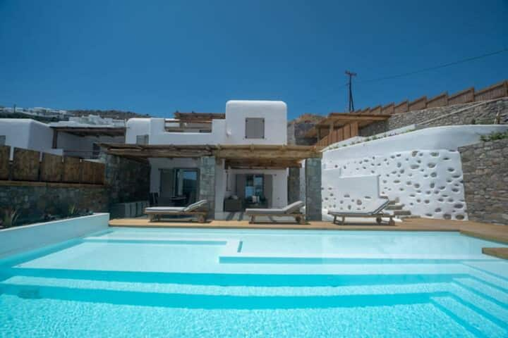 Amaris* Mykonian Villa with private pool !