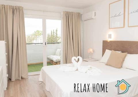 NEW Apt RELAX HOME a 150 m del mar, WIFI y Piscina