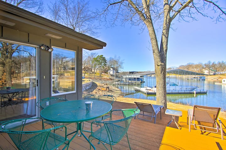 NEW! Sunny Waterfront Family Home on Grand Lake!