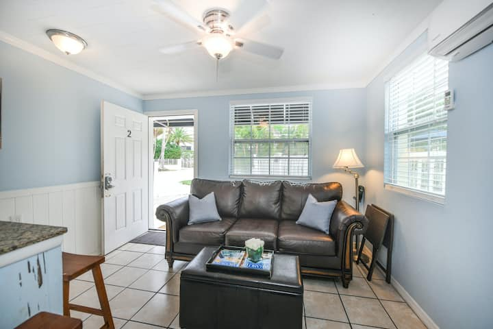 Suite w/ Shared Pool, High-Speed WiFi - Steps to the Beach, Snowbird-Friendly!