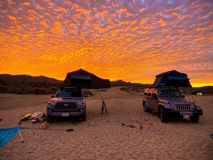 Get Wild! 4x4Van w/RoofTent Geared to Explore Baja