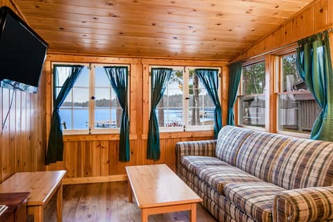 Water's Edge Resort Cabin With WiFi and Gas Fireplace - Seasonally Dog-Friendly!
