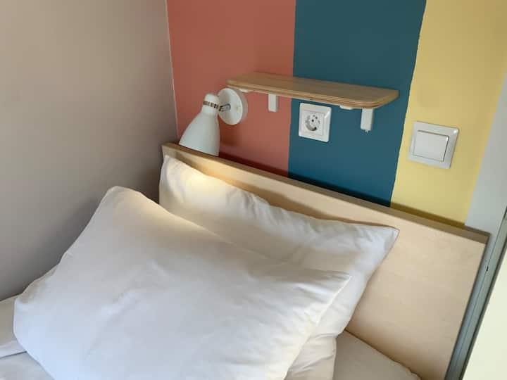 Single room - shared bathroom