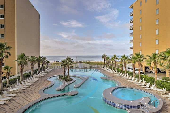 NEW! Gulf Condo w/ Beach Access + Resort Luxuries!