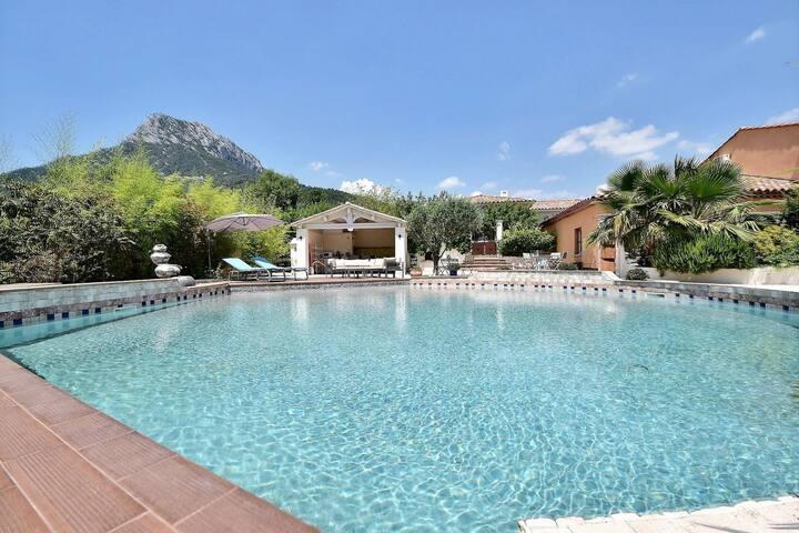La chambre d'hôtes du Partegal - SPA et piscine