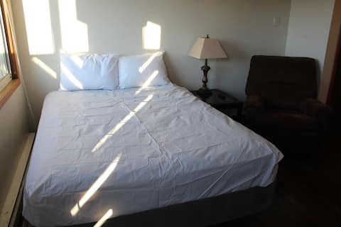 Studio Apartment with large balcony for long or short term stays!