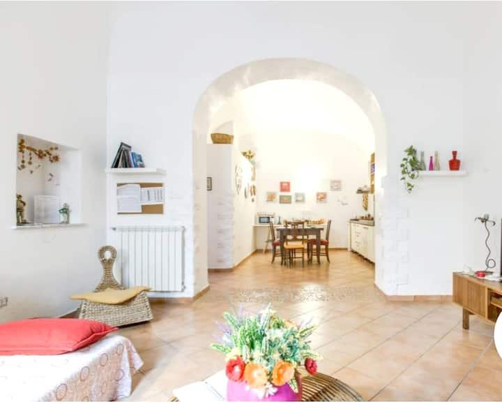 Wohnung mit 2 Schlafzimmern in San Giorgio a Cremano mit W-LAN