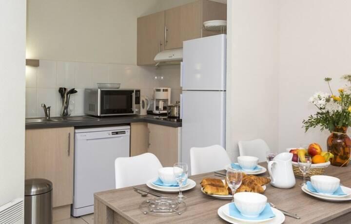 Endroit Super! Profitez des Vacances Reposantes   Accès Piscine + Ménage de fin de séjour inclus