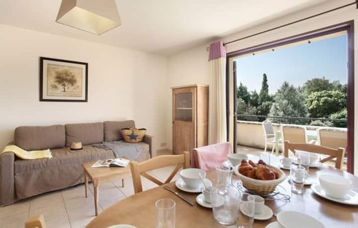 En Pleine Nature   Appartement Confortable + Piscine Extérieure