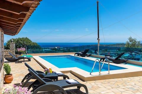 Chania Poolside Resort - Amazing Seaview Lodging