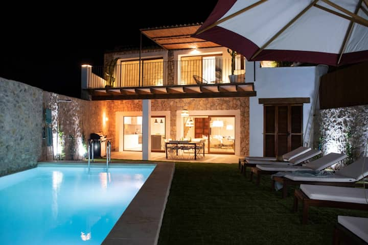 YourHouse Turquesa, quiet, autentic holidays with private pool