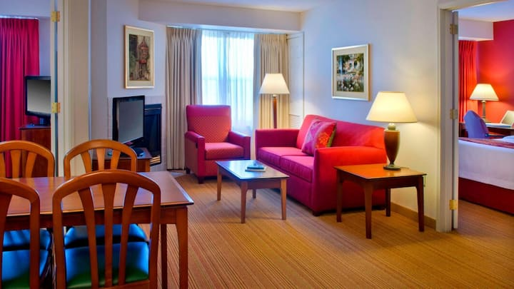 ✨ 2 Bedroom 2 Queen beds Suite with 2 bathroom