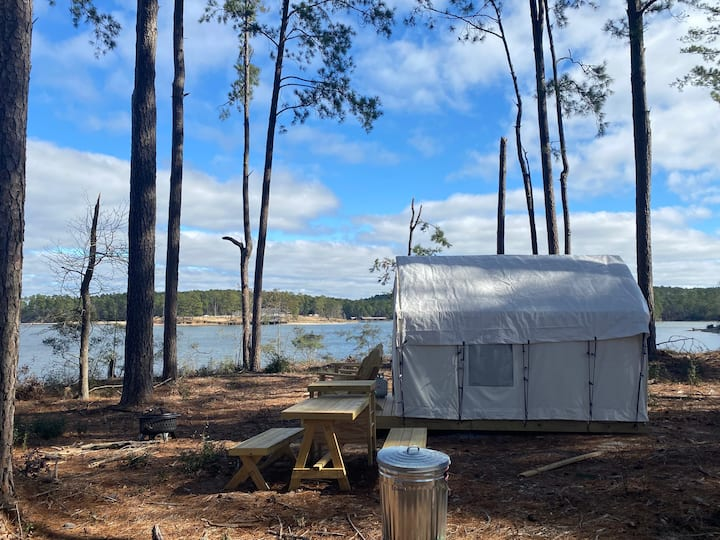 Tentrr State Park Site - South Toledo Bend State Park Site A