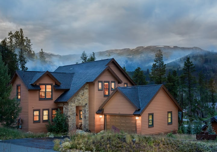 Chalet Carmen in Breckenridge, your home away from home!