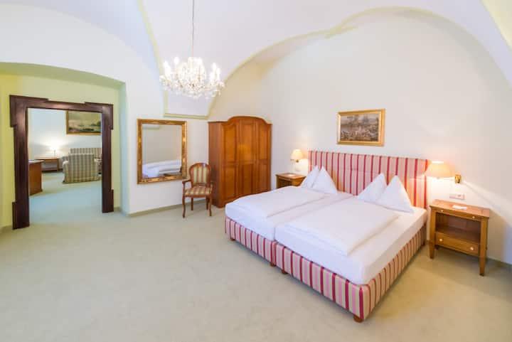 Hotel Kartause Gaming (Gaming), Appartement (55 qm) mit 2 Schlafzimmern