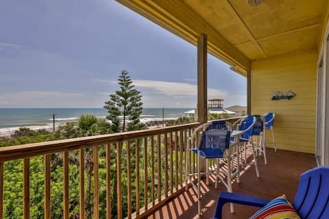 Ocean Club at Turtle 202 2 bedroom 1 bath with stunning ocean views
