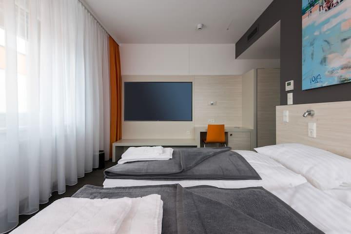 MSC Hotel (Neunkirchen), Doppelzimmer Deluxe mit kostenfreiem WLAN