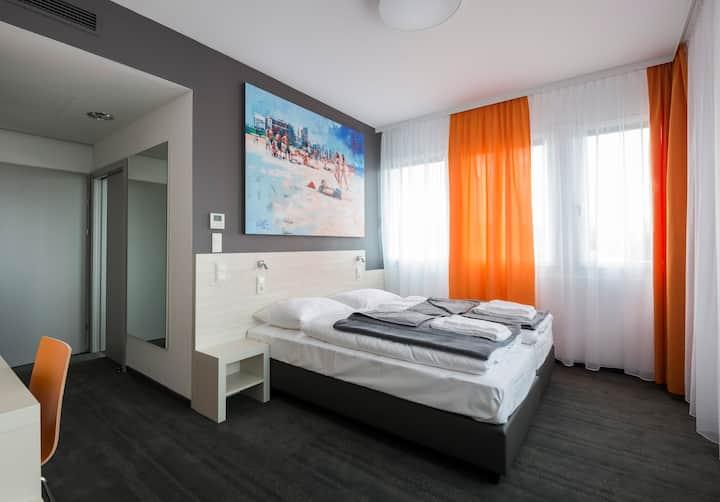 MSC Hotel (Neunkirchen), Doppelzimmer mit kostenfreiem WLAN