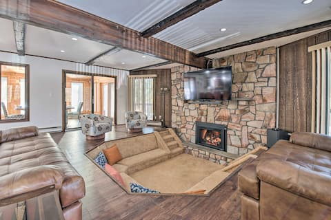 NEW! Upscale Mountain Getaway Near Lake Shangri-La!