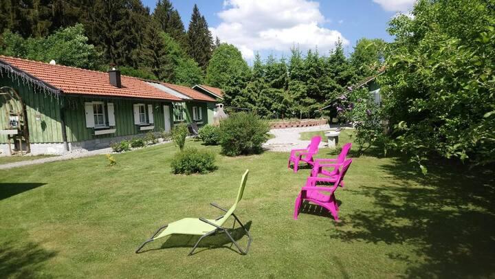Ferienhaus Steiner Waltraud (Lindberg), Großzügiges Ferienhaus Steiner (75qm) mit Terrasse und separater Küche