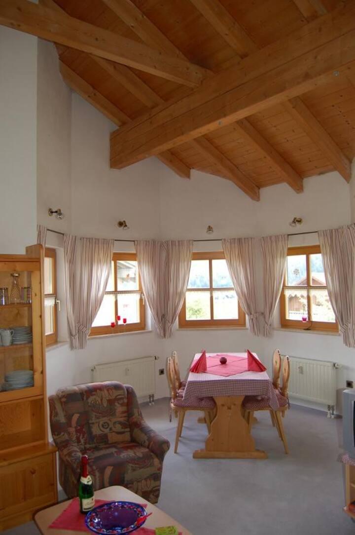 Ferienwohnungen Haus Reineck (Bayerisch Eisenstein), Wohnung C mit Balkon