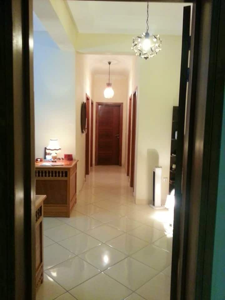 Apartment with 2 bedrooms in Agadir, with wonderful city view, furnished balcony and WiFi