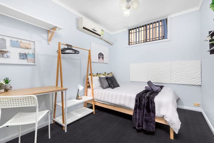 Boutique Private Rm 7-Min Walk to Sydney Domestic Airport - SHAREHOUSE