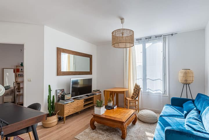 Appartement Epuré pour 4 - Face Bois de Vincennes