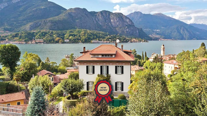 Villa Architettura, beautiful views of Lake Como