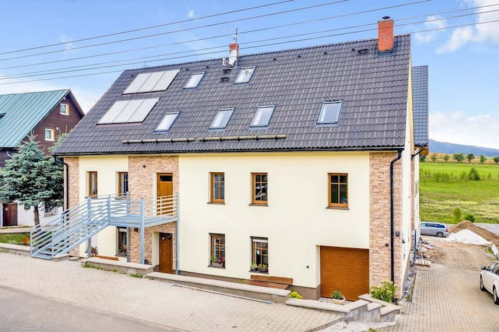 Comfortable studio in the Ore Mountains