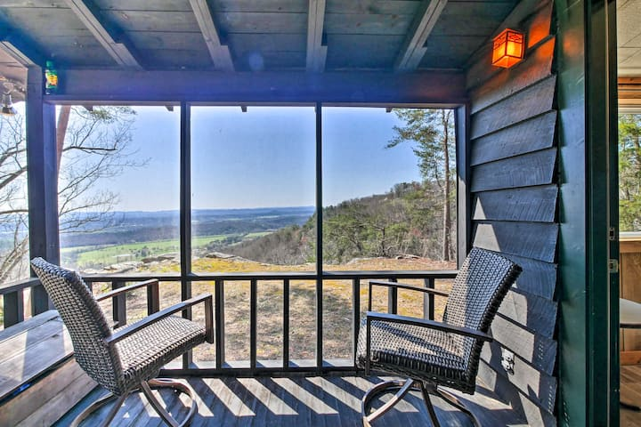 NEW! Secluded Ridgetop Hideaway w/ Valley Views!