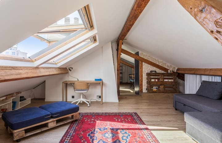 Charming and sunny flat near the Palace of Versailles - Welkeys