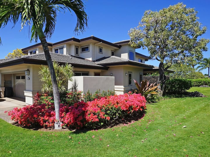 MV207-Home Away from Home at Mauna Lani. Villages Lehua Townhome