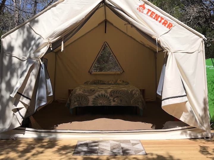 Tentrr Signature Site - Camping at The Cedars Ranch
