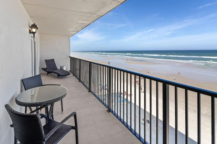 Shore Villas ~ Oceanfront with large, private balcony