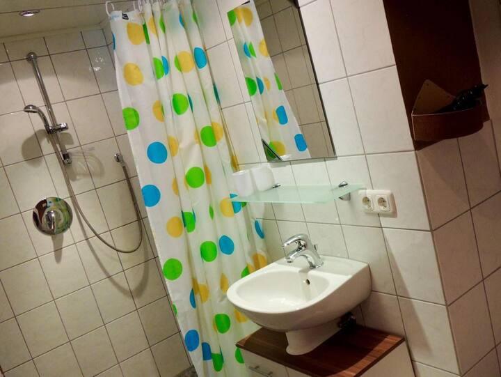 Ferienwohnungen Hackl Ulrike (Mauth), Ferienwohnung 03 - Kanzel (50qm) für 2 Personen im Erdgeschoss