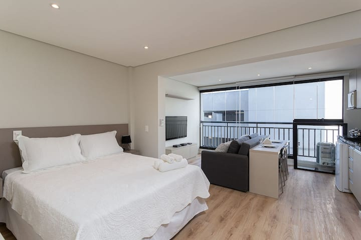 VNBR0116 Large and well equipped apartment at Bom Retiro