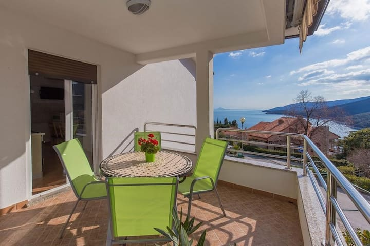 Skopac Apartments in Rabac / Two Bedroom Apartment Skopac A2