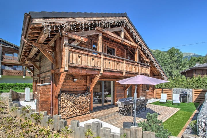 L'AUTHENTIQUE, VERY NICE CHALET OF 12 PEOPLE IN THE HEART OF MORZINE