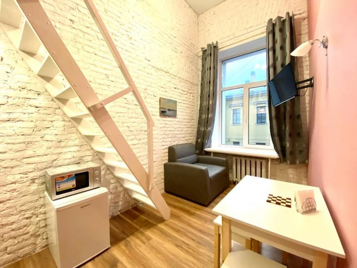 Duplex apartment studios But'ka