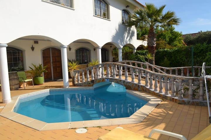 "Fantastic Vacation Villa ""Casa Heikki"" with Pool, Sea & Mountain View, A/C, Wi-Fi, Balcony, Terrace & Garden; Parking Available, Pets Allowed"