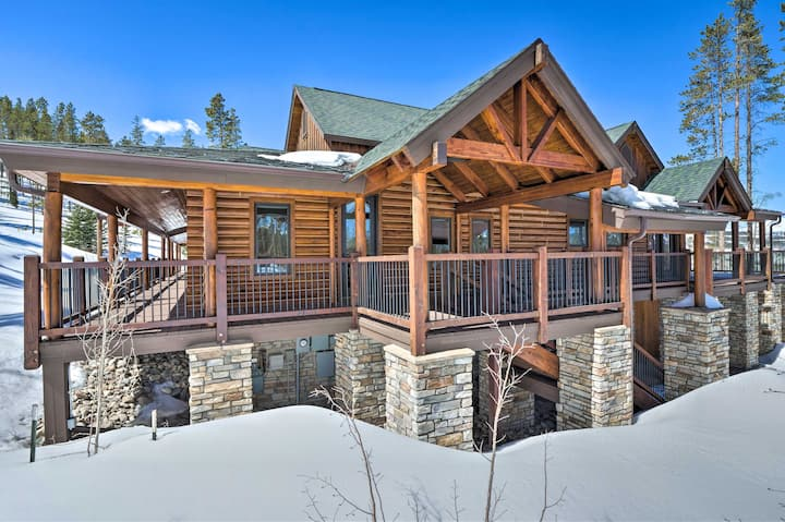 NEW! Luxury Mtn Retreat w/ Hot Tub: 5 Mi to Slopes