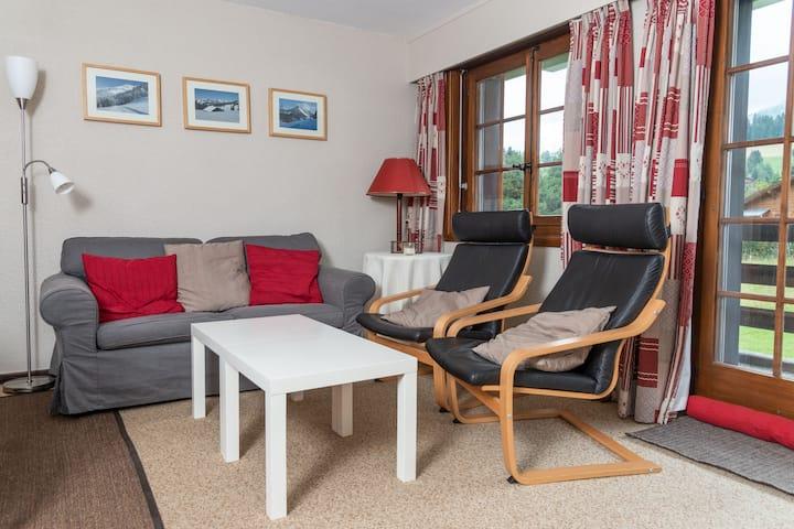 Résidence B2, (Les Mosses), 2 rooms apartment